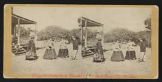 Croquet party, Old Fort Plantation, Port Royal Isl, So. Ca.