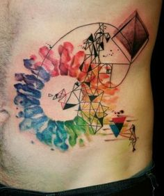 unique Watercolor tattoo - Amazing Watercolor Tattoos ( 32 Pics )   Tattoos Mob