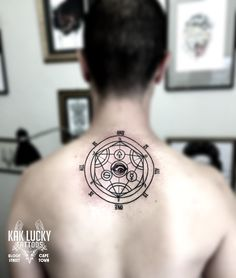 Sacred Geometry tattoo by Gareth Doye  #kakluckytattoos #sacredgeometry #tattoos #lineworktattoo #geometrictattoo #occult #occulttattoo #ink #necktattoo #minimalismtattoo #tattoo #geometry #geometryart #occultart