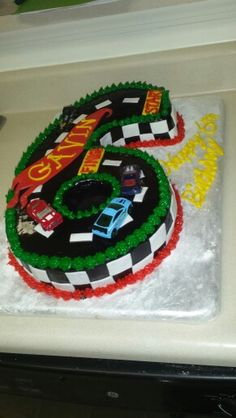 Hot Wheels Cake Cars Birthday Parties 6th Cakes Cupcake Brithday