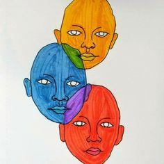 Kunst Inspo, Art Inspo, Trippy Painting, Painting & Drawing, Hippie Painting, Arte Dope, Arte Indie, Arte Sketchbook, Funky Art