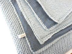 Baby blanket tricot french new Ideas Knitting For Kids, Knitting Yarn, Knitting Projects, Baby Knitting, Knitting Patterns, Crochet Projects, Crochet Diy, Manta Crochet, Brei Baby
