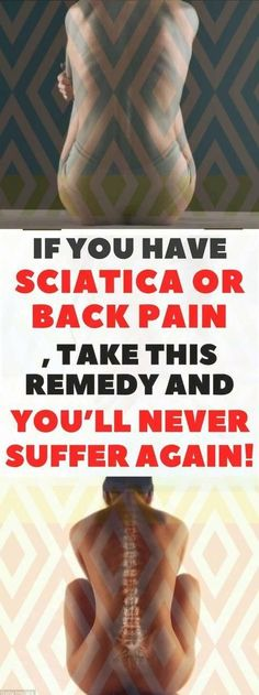 If You Have Sciatica or Back Pain, Take This Remedy and You'll Never Suffer Again! The post If You Have Sciatica or Back Pain, Take This Remedy and You'll Never Suffer Again! appeared first on Fashion and Recipes. Workout To Lose Weight Fast, Fast Workouts, How To Lose Weight Fast, Health Blog, Health Diet, Health Fitness, Health Care, Wellness Fitness, Herbal Remedies