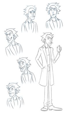 by http://littlekitty789.tumblr.com/post/139264624576/some-sketches-of-a-young-rick-sanchez-p-i-find