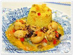 Moqueca de Chocos com Arroz Basmati ao Cardamomo – Recipes by Apok@lypsus