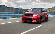Download wallpapers Range Rover Vogue, 2017 games, Lumma CLR R, SUVs, Lumma Design, tuning, Range Rover