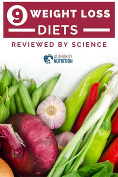 Many weight loss diets exist and each claims to be the best. This is a review of the 9 most popular weight loss diets and the science behind them.