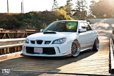 Subaru Impreza WRX STi with all time favorite BBS LMs    Power. Handling. Beauty.