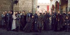 Game of thrones first look: inside the brutal battle to make season 8 - entertainment weekly news - nydaily.news Game Of Thrones Poster, Game Of Thrones Facts, Game Of Thrones Tv, Game Of Thrones Funny, Jaime Lannister, Cersei Lannister, Daenerys Targaryen, Sansa Stark, Ned Stark