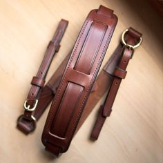 bretelle appareil photo - leather camera strap