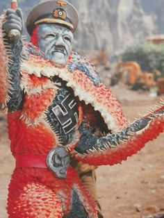 Japanese science fiction, costumed monsters and characters from film and TV .