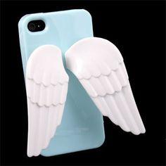 New 3D Design Angel Wing Holder TPU Case For iPhone 4 4G 4S 4GS Blue by OEM, http://www.amazon.com/dp/B007GIKTQE/ref=cm_sw_r_pi_dp_o8uesb1WA0KS4