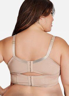 Plus size bra - Padded plunge bra Plus Size Sports Bras, Plus Size Bra, Plus Size Girdle, Butterfly Bra, Plus Size Bikini Bottoms, Plus Size Fall Outfit, Women's Shapewear, Plunge Bra, Mode Hijab