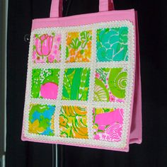 I desperately need to add some vintage Lilly bags to my collection, this tote is amazing!