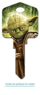 Star Wars Yoda Schlage House Key (SC1-SW2) #Star #Wars #Yoda #Schlage #House #Key #SC1_SW2