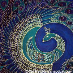 Peacock Mandalas - Yahoo Image Search Results
