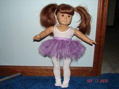 amerikanisches Mädchen Puppe Ballerina Outfit Satz von sew57sew