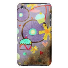 iPod Touch 4th generation  Case  Vintage Burn