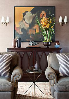 """""""We always add something old with patina to every room. It's the best way to keep a space from looking freshly decorated. """" —Joshua Greene"""