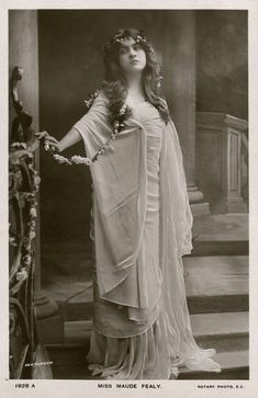 Maude Fealy  was an American actress who during the early twentieth century was one of the leading ladies of the American stage. Her youthfu...