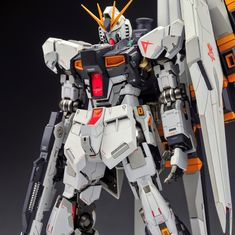 GUNDAM GUY: MG 1/100 Nu Gundam Ver Ka - Customized Build