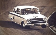 Lotus-Cortina Mk1 (1963 to 1970) is a high-performance car produced in the United Kingdom by the Ford in collaboration with Lotus Cars. It was based on the Ford Cortina Mark 1. It came with a 1558 cc straight-4 Twin ohc engine set-up for about 105hp.