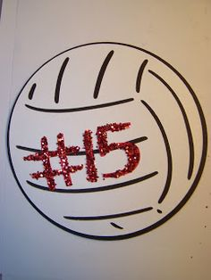 Volleyball has taken over this house! I do believe I am seeing volleyballs in my sleep. My oldest daughter, Kaitlynn, has made her school& . Volleyball Locker Decorations, Volleyball Crafts, Volleyball Cheers, Volleyball Jewelry, Volleyball Ideas, Volleyball Locker Signs, Volleyball Posters, Posters Diy, Sports Posters