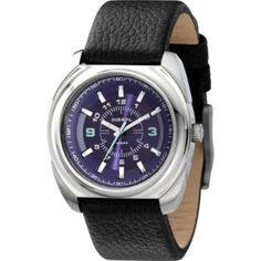 Diesel Leather Collection Black Strap Purple Dial Womens watch #DZ5199: Watches: Amazon.com