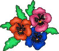 Анимация цветок