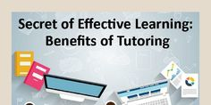 Secret of Effective Learning: Benefits of tutoring by Tutor Pace - Infogram Practice Quotes, Effective Learning, Online Tutoring, Piano Lessons, Benefit, The Secret, Coding, Student, Songs