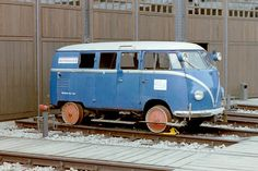 Old German rail inspection vehicle