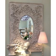 NEW! Trailing Trellis Mirror  |  Small / Wall Mirrors  |  Mirrors & Screens  |  French Bedroom Company
