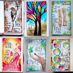 art journeling inspiratie
