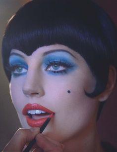 Elisabeth Erm Channels Liza Minnelli in 'Cabaret' By Sanchez & Mongiello For Numéro #145.