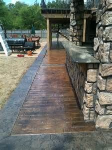 Wood Plank Stamped Concrete Wood Plank Stamped Concrete                                                                                                                                                     More