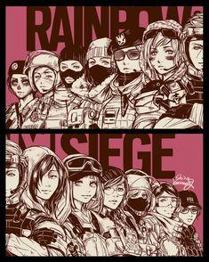 FBI,SDU,GSG-9,707th S.M.B,GROM,SAT,SEAL,JTF-2,GIGN,GEO,BOPE,CBRN CTU Operatives:Ash,Ying,IQ,Dokkaebi,Ela,Hibana,Valkyrie,Zofia,Frost,Twitch,Mira,Caveira and no one care Author:shinosaaaaaaag Rainbow Six Siege Twitch, Rainbow Six Siege Anime, Rainbow Six Siege Memes, Rainbow 6 Seige, Tom Clancy's Rainbow Six, Rainbow Art, Star Wars Drawings, Cute Drawings, Go Game