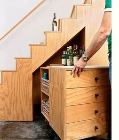 Home-Dzine - Ideas for using space under the stairs