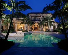 Evening is a wonderful time to relax and enjoy the serenity of a pool in your backyard.
