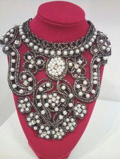 Perlas sobre tela