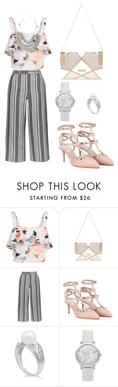 """New l00k"" by t00taa-108 ❤ liked on Polyvore featuring beauty, New Look, River Island, Topshop and Valentino"