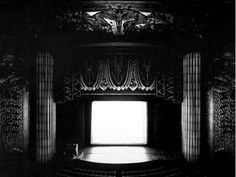 Paramount, Oakland by Hiroshi Sugimoto, born on February is a Japanese photographer currently dividing his time between Tokyo, Japan and New York City Amazing Photography, Art Photography, Contemporary Photography, Hiroshi Sugimoto, Medium Art, Black And White, Total Black, Theatre, Modern Photographers