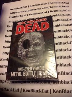 WALKING-DEAD-ONE-EYED-ZOMBIE-MAGNETIC-BOTTLE-OPENER-NEW-IN-BOX-FAST-SHIPPING #ebay #endingsoon #kenblackcat