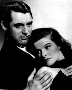 Cary Grant and Katharine Hepburn, publicity still.