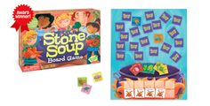 Stone Soup  Cooperative Board Game GM104 peaceablekingdom.com