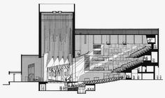 architecture section drawing - Google Search
