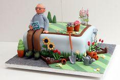 Gardener's Cake   Flickr - Photo Sharing!