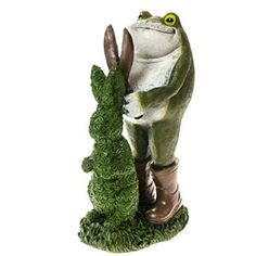 Frog with Topiary Decor http://shop.crackerbarrel.com/Frog-with-Topiary-Decor/dp/B00S6JYU3A