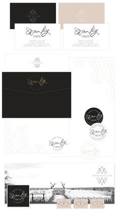 Brand Launch: Swanky I Do's | Stationery & Social Design | #print #brand #design