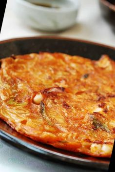 This crispy flavor-packed kimchi pancakes are super easy to make with a few basic ingredients as long as you have some well fermented kimchi.#Pancake #Recipe #Kimchijeon #pancakes) #(kimchi Pancake Recipe For One 18+ Kimchijeon (Kimchi Pancakes)   Pancake Recipe For One Person   2020 One Person Meals, Meals For One, Pancakes Recipe For One Person, Kimchi Pancakes, Macaroni And Cheese, Super Easy, Ethnic Recipes, Food, Mac And Cheese