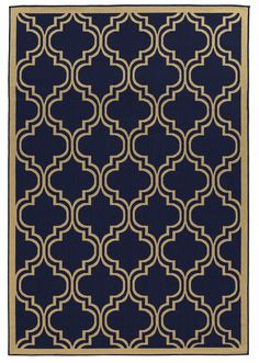 Ghinda Blue Area Rug